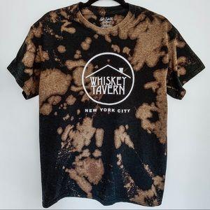 Whiskey Tavern New York City Bleached T-Shirt